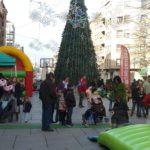 Animación de calle y zonas comerciales